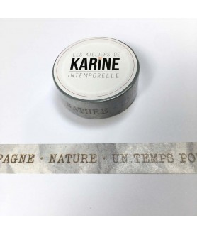 Masking Tape Textes Kraft