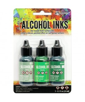 Alcohol Inks 3 Couleurs