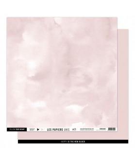 Papier Uni No 7 ROSE LOTUS
