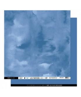 Papier Uni No 37 OCEAN