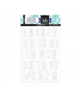 Tampon Clear ALPHABET