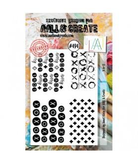 AALL AND CREATE Stamp Set 494