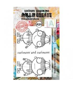 AALL AND CREATE Stamp Set 504