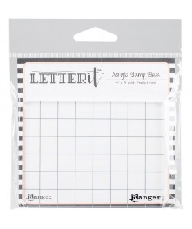 Letter It Acrylic Stamping...