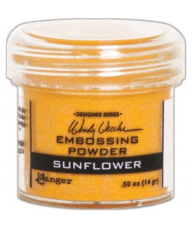 Embossing Powder Sun flower