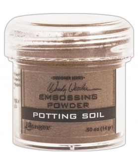Embossing Powder Potting Soil