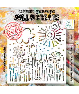 AALL And CREATE Stencil 095